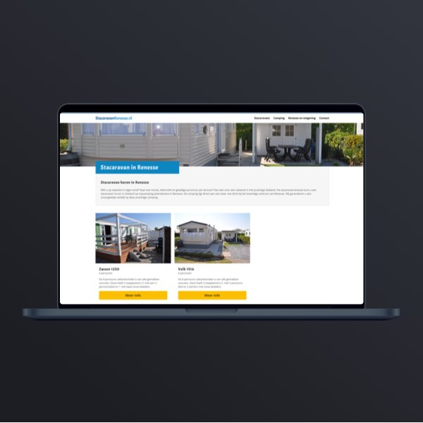 Webdesign Stacaravanrenesse
