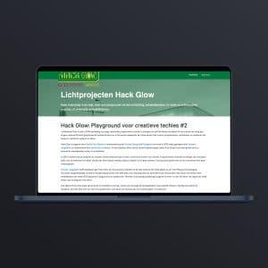 Hackglow website